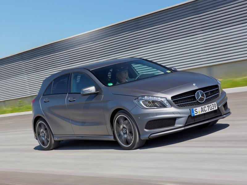 Новый Mercedes A-класса