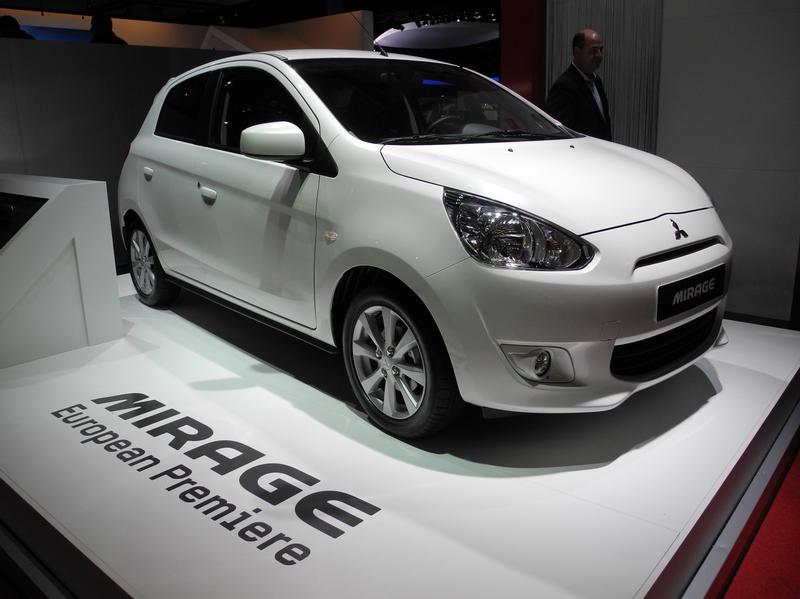 Mitsubishi Mirage должен покорить Европу