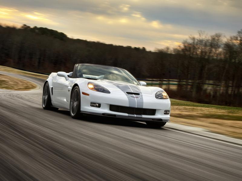 Новый Corvette Cabrio