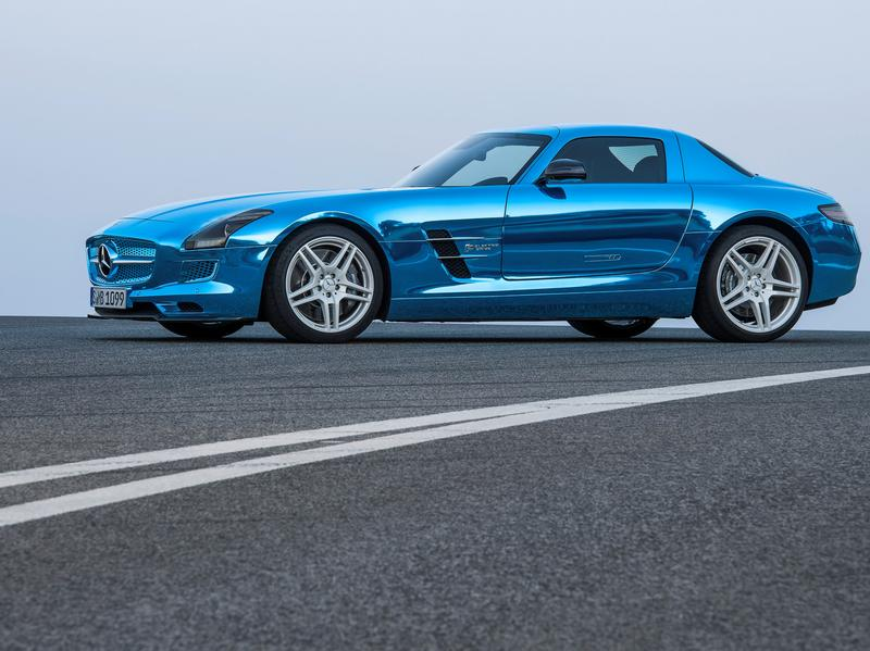 Mercedes SLS с электроприводом