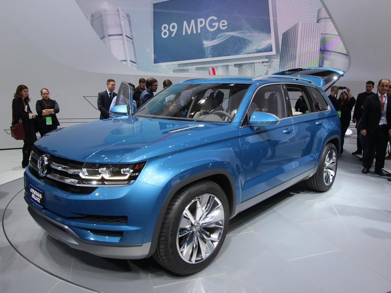 Между Tiguan и Touareg: VW представил SUV-Studie CrossBlue