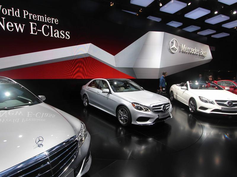 Модели машин, которые были представлены на NAIAS в Детройте