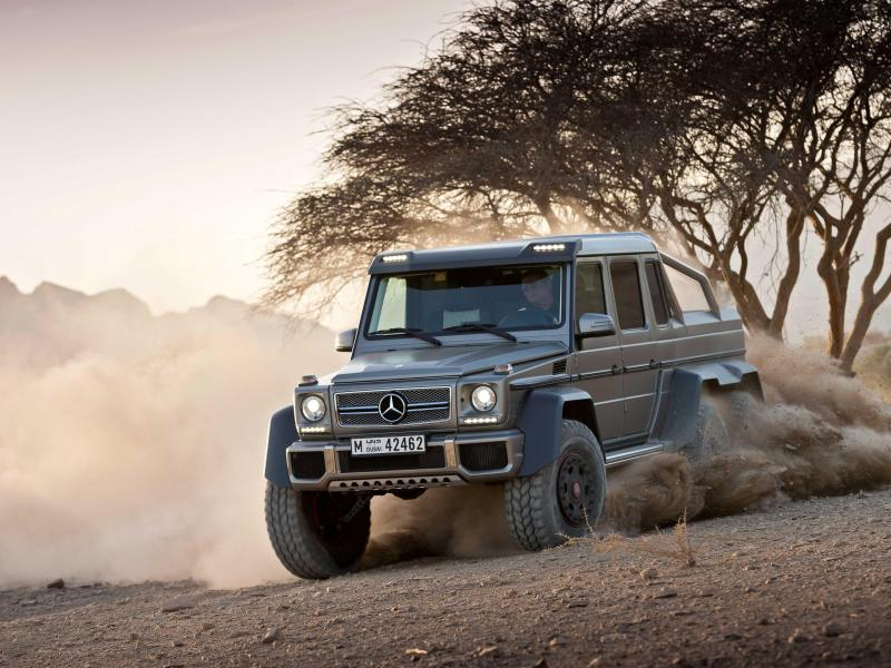 Geek Vehicles | Mercedes G 63 AMG 6x6: Der G-Klasse-Extremist