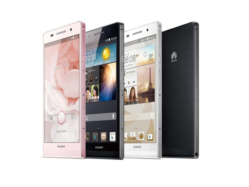 Flachmann-Smartphone: Huawei Ascend P6 für 449 Euro im Handel