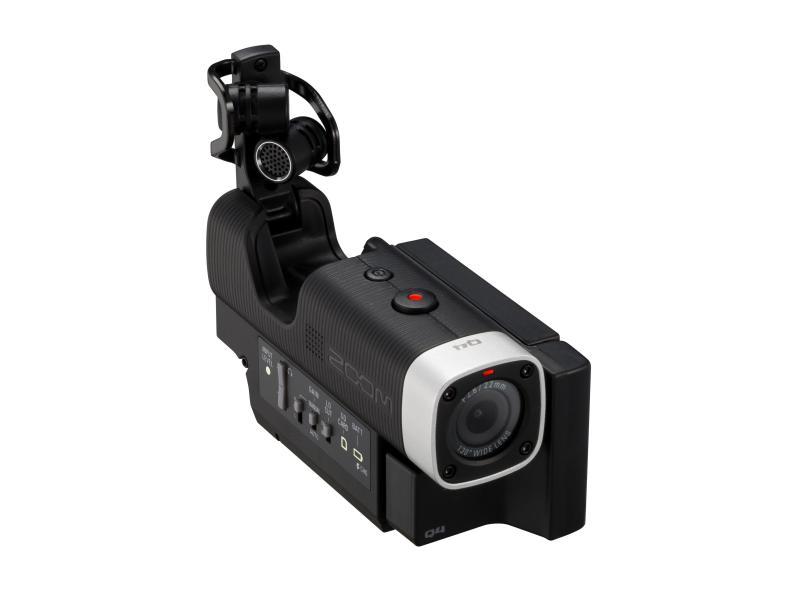 Vielseitige Actioncam mit hochwertigen Mikros
