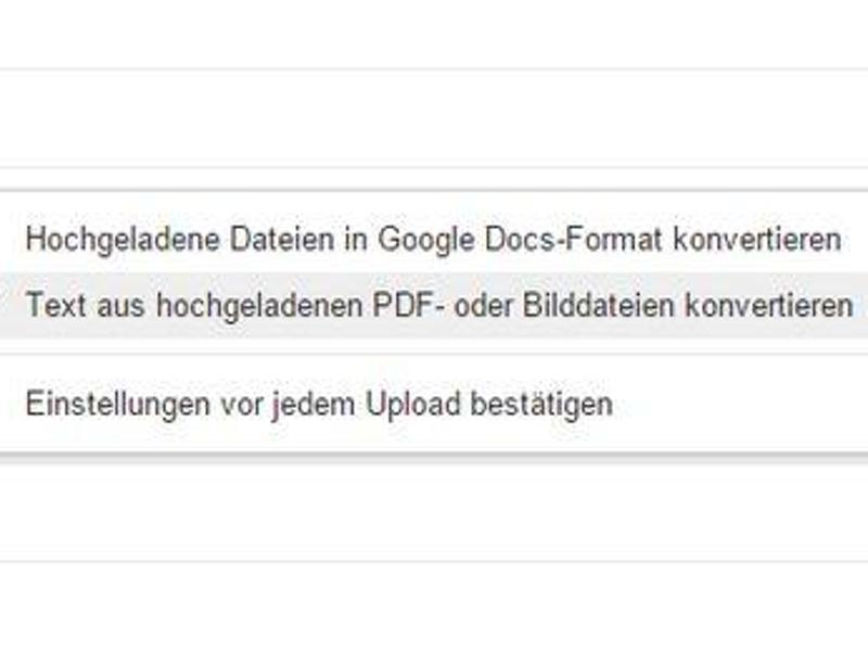 Web | Texterkennung leicht gemacht - mit Google Drive