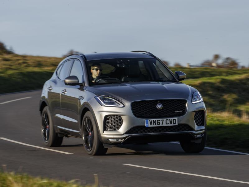 Jaguar E-Pace Test: