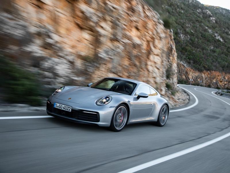 porsche 911 Carrera 4S #Test #Testfahrt
