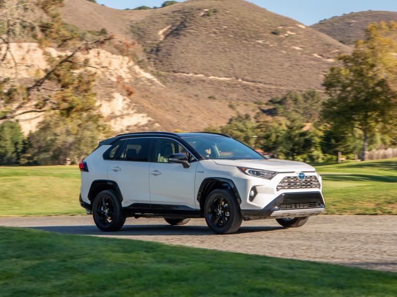 Toyota RAV4 Test