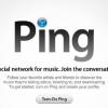 Spam-Attacke auf Apple: Neues Social-Music-Network Ping für Link-Fallen missbraucht