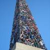[BikeFieber] Was Ägyptern nicht gelang: Obelisk aus Rädern