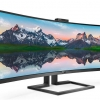 Krasser Bildschirm: SuperWideCurved-LCD-Displayvon Philips