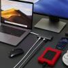 Praktisch: USB-C 4K 9 Ports Travel Dock von LMP