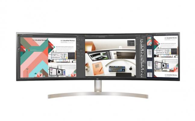 Neuer LG Curved Monitor kommt mit 49 Zoll und WQHD-Auflösung