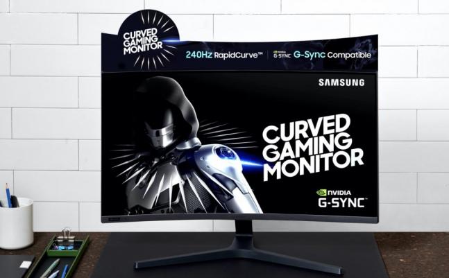 Neuer Samsung Curved-Monitor für Gaming mit 27-Zoll