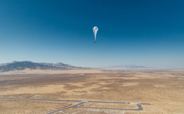 Google Loon: Mobiles Internet via Heissluftballon in Kenia