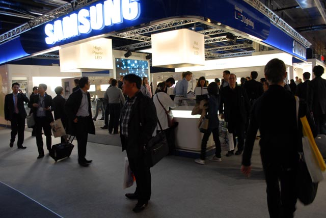 [Light+Building] Samsung will mit seinen LEDs Top-Player werden