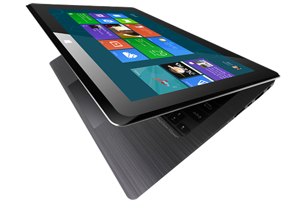 Asus Taichi: Vereint Notebook und Tablet  (Video)