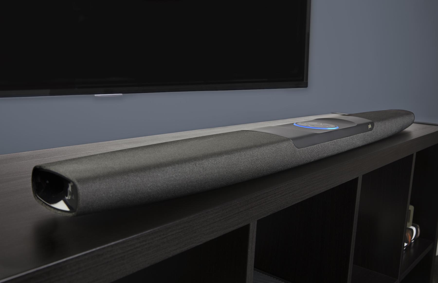 Polk Audio - neue TV-Soundbar mit Alexa Sprachsteuerung
