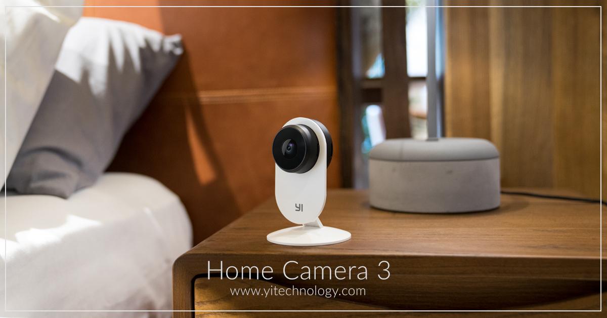 YI Technology startet mit YI Home Kamera 3