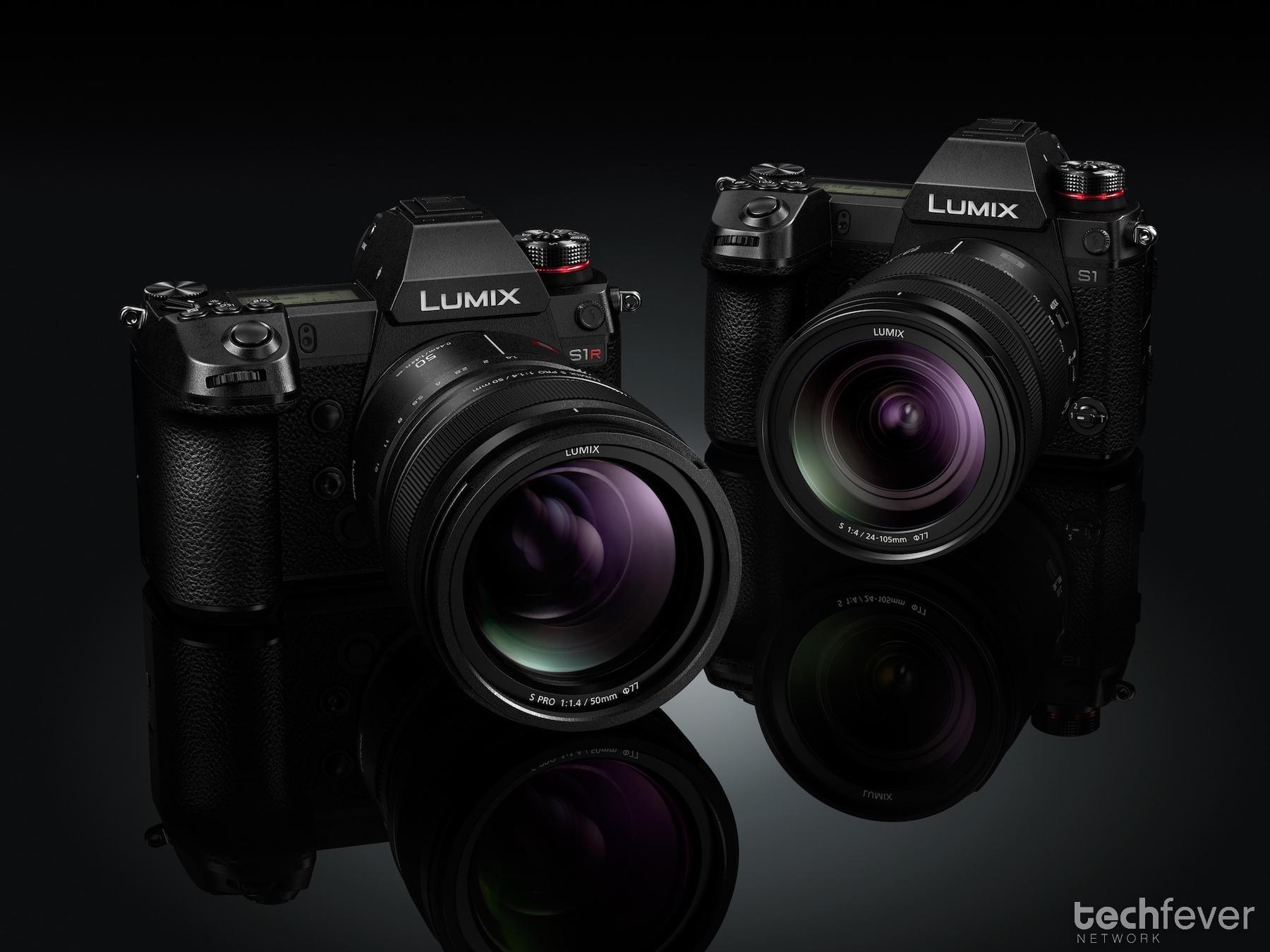 Panasonic LUMIX S1R und S1 Vollformat Kamera