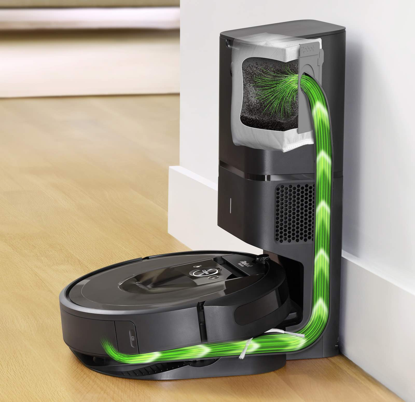 iRobot Roomba mit neuer Reinigungsstation