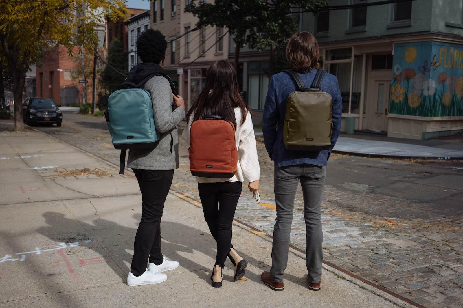 Den Moleskine Rucksack gibt es in verschiedenen Varianten