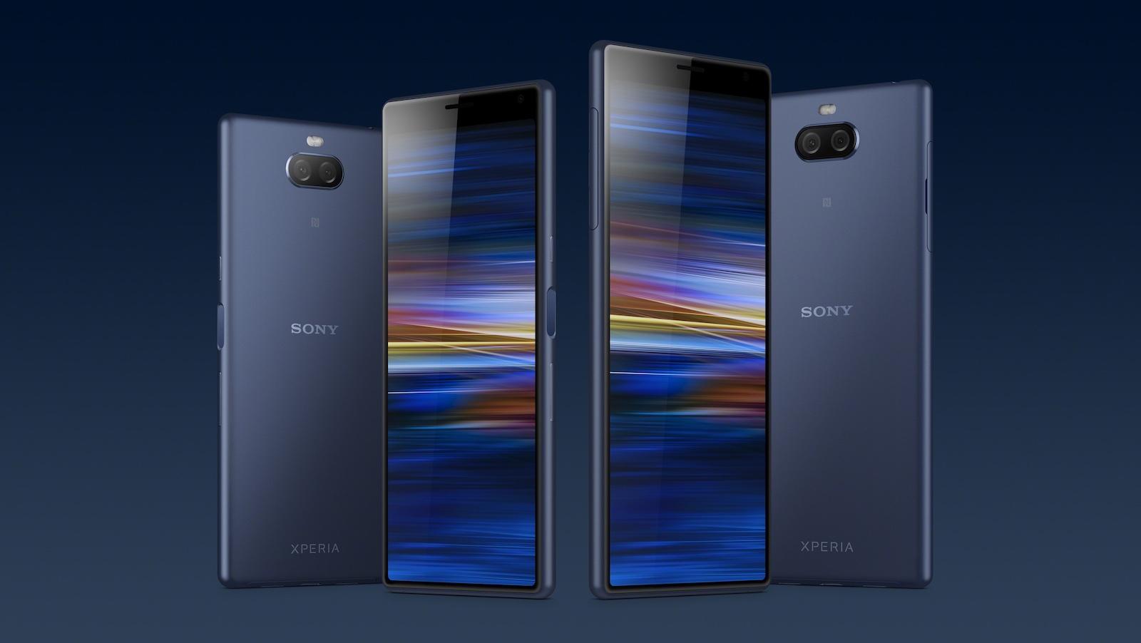 Neus Sony Xperia 10 von Sony enthüllt