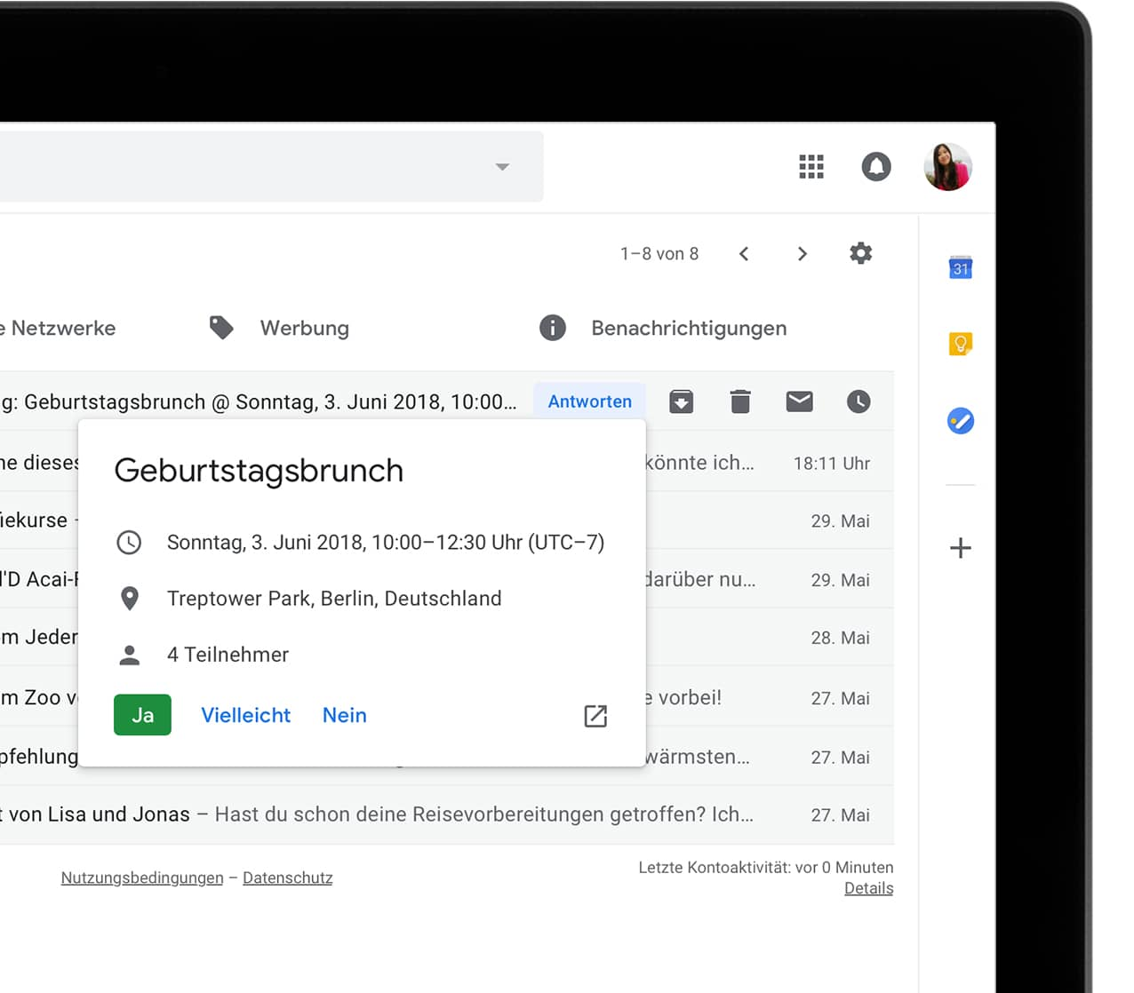 Google kündigt intelligenteres Gmail an