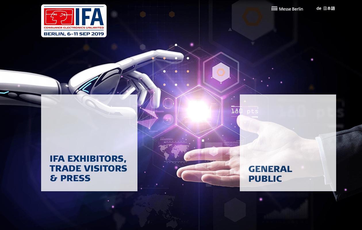 IFA Trends IFA 2019