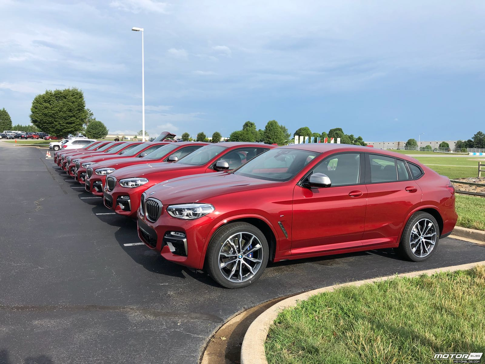 BMW x4 2018 Premiere Spartanburg media event 11