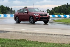 BMW x4 2018 Premiere Spartanburg media event Drift 3