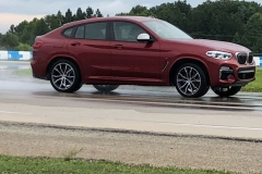 BMW x4 2018 Premiere Spartanburg media event Drift 4